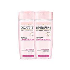 Diadermine Duplo Tónico Limpiador Suave 2x 200 ml
