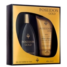 Poseidon Gold 150 Ml Estuche 2 Piezas