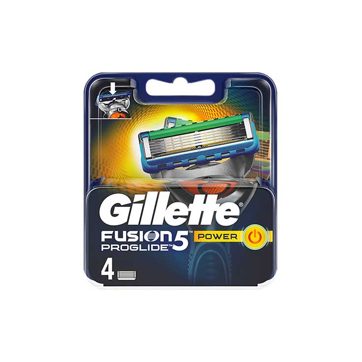 GILLETTE CARGADOR POWER PROGLIDE 4 UDS.