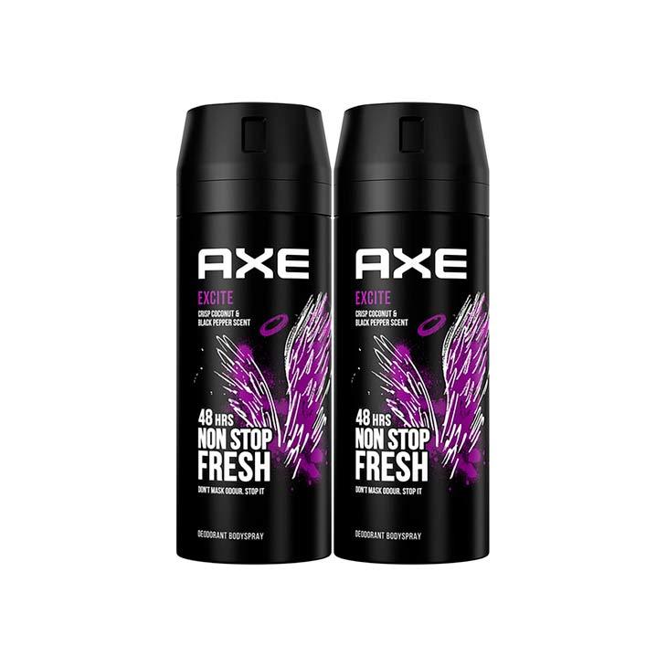 Axe Desodorante Excite 150ml 2x1