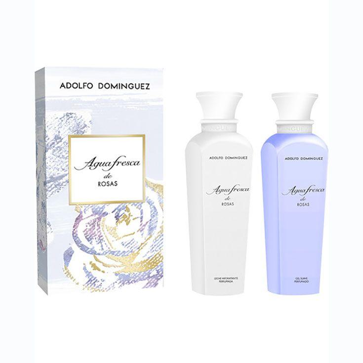 ADOLFO DOMINGUEZ AGUA FRESCA DE ROSAS Estuche regalo