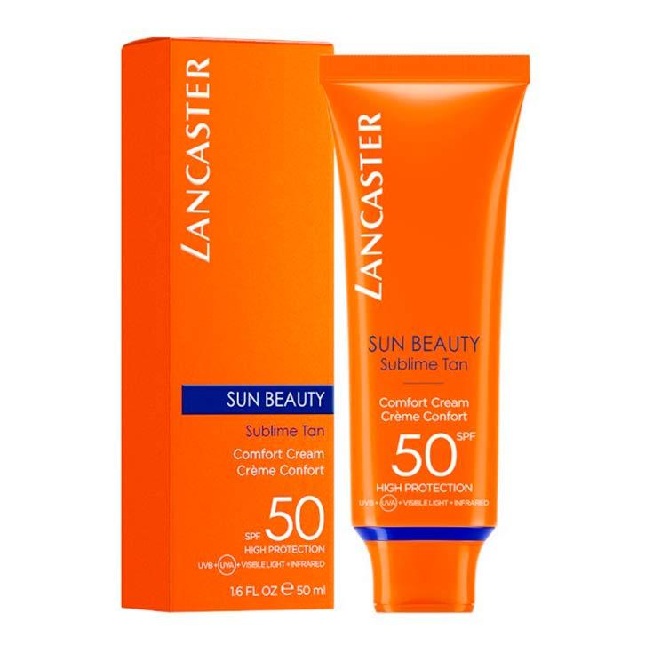 Lancaster Sun Beauty Comfort Cream Spf 50 50 ml
