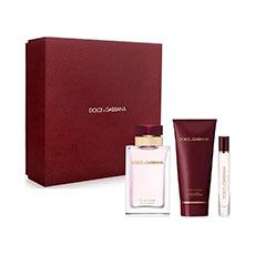 Dolce & Gabbana Pour Femme Eau de Parfum Estuche 3 Piezas
