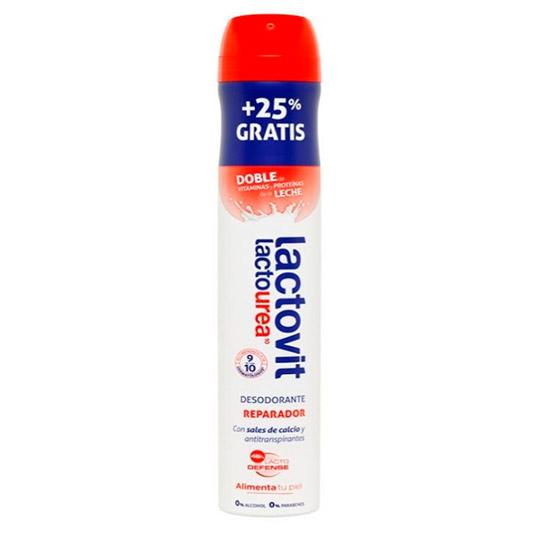 Lactovit Desodorante Lactourea Reparador Spray 200ml