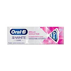 Oral-B 3DWhite Luxe Brillo Seductor Crema Dental 75 ml