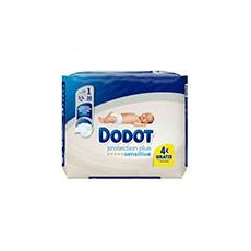 Dodot Sensitive Talla 1 Recién Nacidos 28 uds