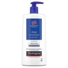 NEUTROGENA BODY LOTION PIEL SECA Y SENSIBLE FRAGANCE FREE