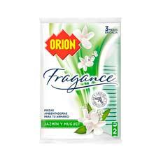 Orion Fragance Pinza Ropa Limpia Antipolillas Jazmín y Muguet 2 uds