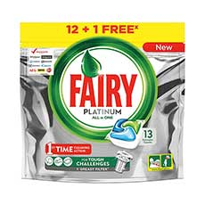 Fairy Platinum All in One Cápsulas 12 Unidades + 2 de Regalo