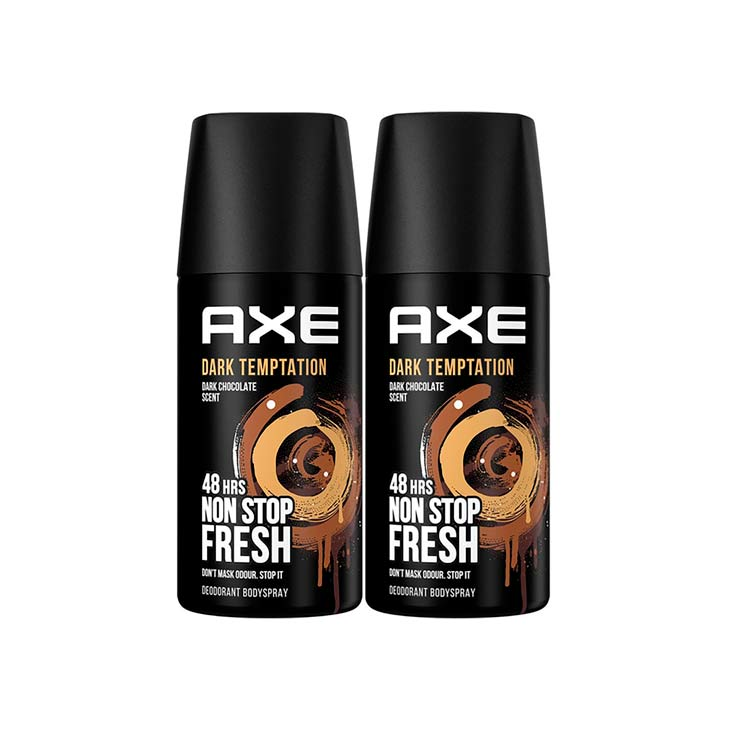 AXE DESODORANTE DARK TEMPTATION 150 ML. 2X1