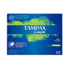 Tampax Compak Super 22 Uds