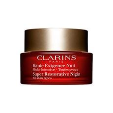 Clarins Multi-Intensive Alta Exigencia Crema Antiarrugas Noche Todo Tipo De Pieles 50 Ml