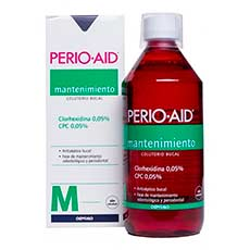 Perio-Aid Mantenimiento Control Colutorio CHX 0,05% + CPC 0,05%
