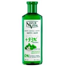 Natur Vital Happy Hair Champu Con Te Verde Reforzante 300ml