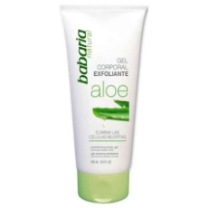 BABARIA GEL CORPORAL EXOLIANTE ALOE VERA 250 ML.