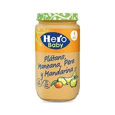 Hero Baby Tarrito Plátano, Manzana, Pera y Mandarina 235 g