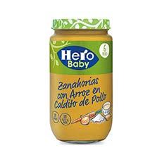 Hero Baby Tarrito Zanahorias con Arroz en Caldito de Pollo 235 g