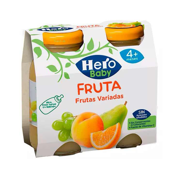 Hero Baby Bebida de Frutas Variadas 2 X 130 Ml