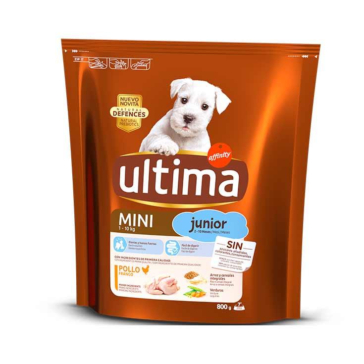 Ultima-Affinity Dog Special Mini Junior con Pollo y Arroz 800 gr
