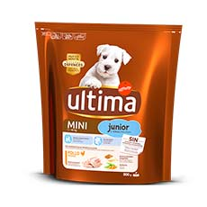 Ultima-Affinity Dog Special Mini Junior con Pollo y Arroz 800 gr