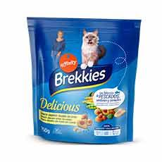 Brekkies-Affinity Cat Delicious Croquetas Crujientes Rellenas con Gamba 750 g
