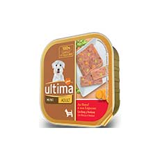 Ultima-Affinity Dog Adult Mini con Buey Latita 150 g