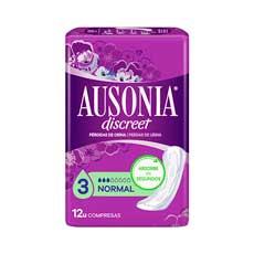 Ausonia Discreet Normal Compresas 12 uds