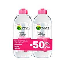 Garnier Skin Active Agua Micelar Duplo 2 x 400 ml