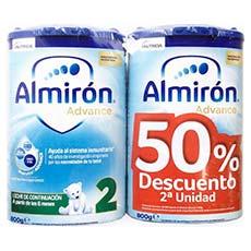 Almirón Advance Leche Continuación Duplo 2X800 g