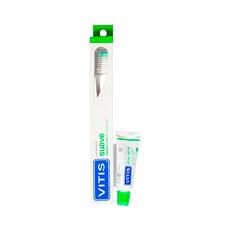 Vitis Pack Cepillo Suave + 2 Mini Cepillos Interprox