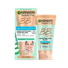 GARNIER BB CREAM PIELES MIXTAS A GRASAS 40 ML