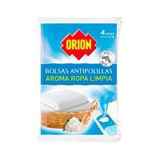 Orion Antipolillas Ropa Limpia 20 uds