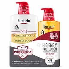 Eucerin Pack Ph5 Oleogel de Ducha 1000 ml + 400 ml