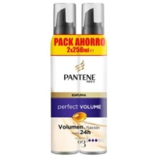 PANTENE ESPUMA PERFECT VOLUME 250 ML. DUPLO