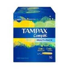 Tampax Compak Multipack 16 Uds.