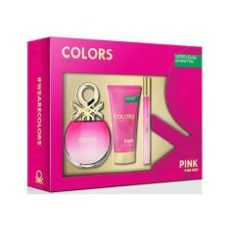 Estuche Benetton Colors Pink 50 ml.