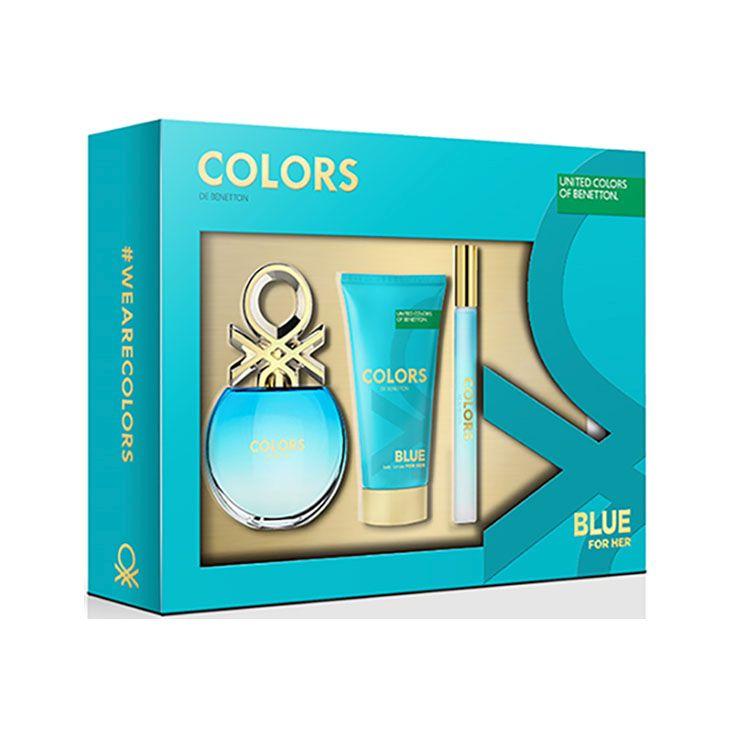 Estuche Benetton Colors Blue 50 ml.