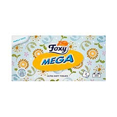 Foxy Mega Ultra Soft Tissues