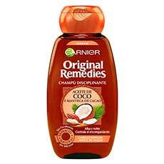 Garnier Original Remedies Aceite de Coco y Manteca de Cacao Champú 250 ml
