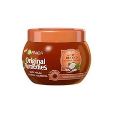 Garnier Original Remedies Aceite de Coco y Manteca de Cacao Mascarilla Nutritiva Alisadora 250 ml