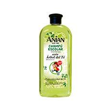 Anian Aceite Árbol Del Té Champú Escolar 400 ml