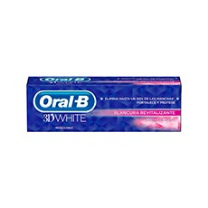 ORAL-B 3D WHITE CREMA DENTAL BLANCURA REVITALIZANTE 75 ML.