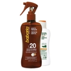Babaria Aceite Solar Spf20 200ml+ Regalo Aftersun 100ml