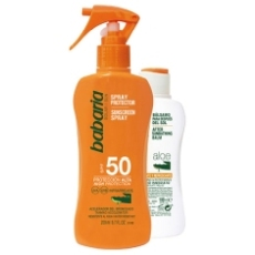 BABARIA SPRAY PROTECTOR SPF 50 + AFTERSUN ALOE