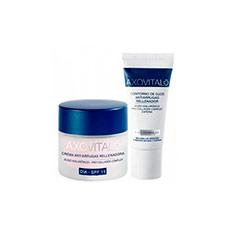 Axovital Antiarrugas Crema de Día SPF 15 50 ml + Contorno de Ojos 15 ml