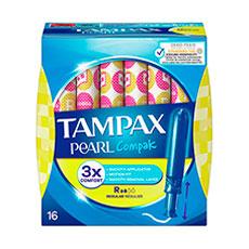 Tampax Compak Pearl Regular Tampones 18 uds