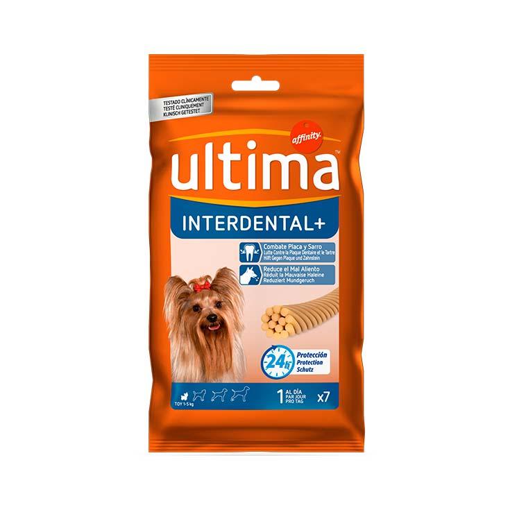 Ultima-Affinity Interdental + X 7 unidades para perros de 1 a 5 kg 70 g
