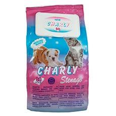 Charly Toallitas húmedas Para Animales Domésticos 80 u.