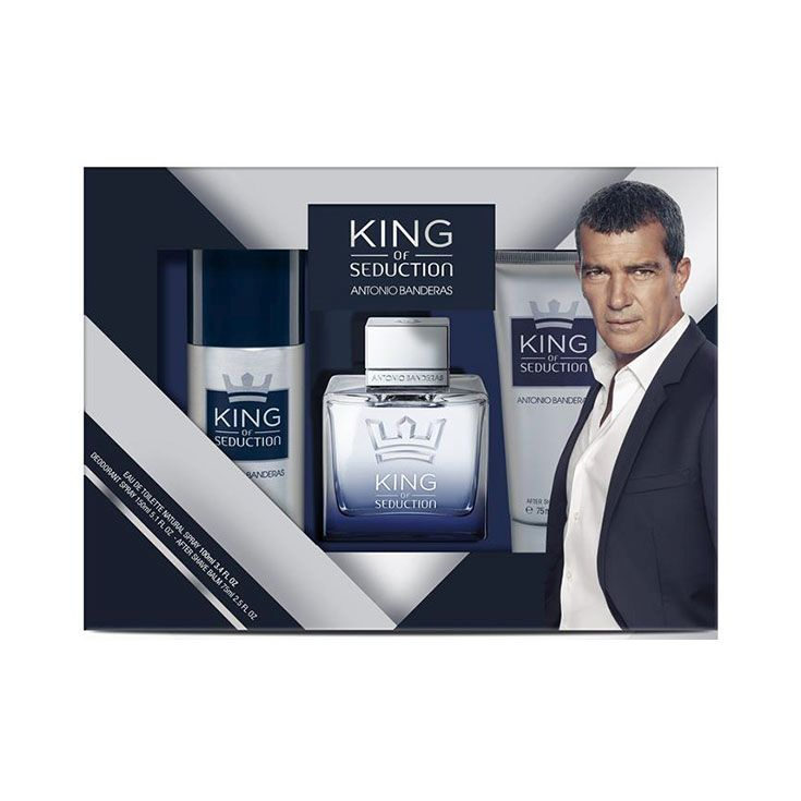 Estuche Antonio Banderas King Of Seduction 100 ml.
