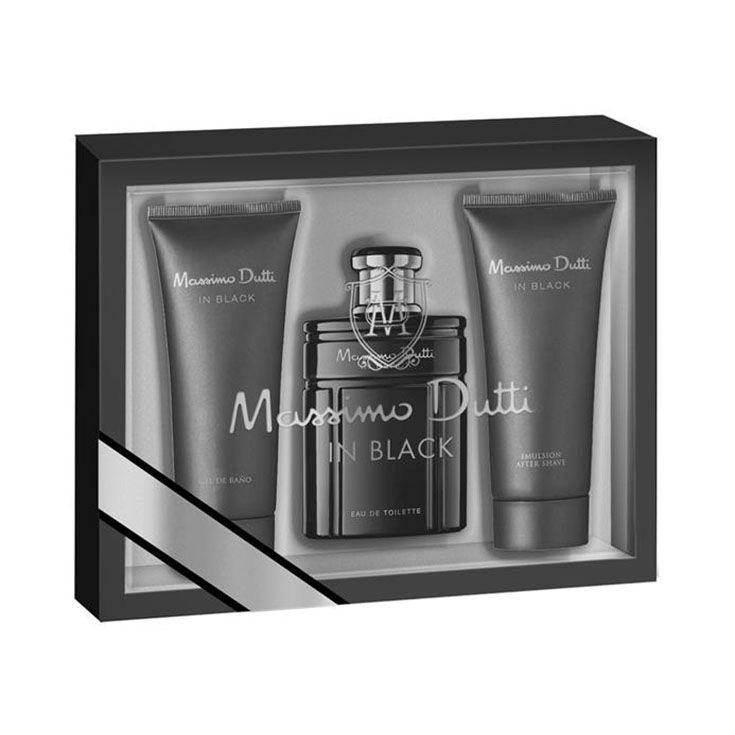 Estuche Massimo Dutti In Black 80 ml.